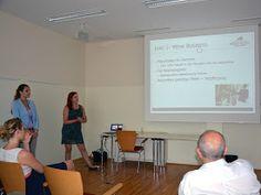 Studienpräsentation von Studierenden des Studiengangs Innovation & Management im #Tourismus, der Fachhochschule #Salzburg bei uns im #Brunauer