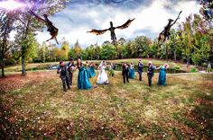 #weddingphotography #uniqueweddingphoto #offbeatwedding #medievalwedding #dragonwedding #outdoorwedding #thesterlingcastle #alabamaweddingvenue #castlewedding #fairytalewedding #southernwedding