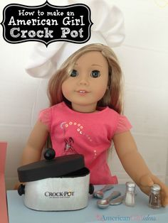 American Girl Crock Pot