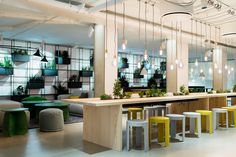 An office's atmosphere influences the way its inhabitants feel, think, act, create and collaborate. To keep up with shifting employee needs, companies must a...
