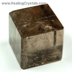 Explore the benefits of working with Sacred Geometry with these light Smokey Quartz crystal Cubes.  Cubes consolidate energy, creating a fou...