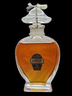 ♔ Super rare Guerlain Lyre bottle Candide Effluve