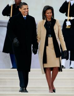 """Inauguration Day: January 18, 2009 in Washington, DC. The outfit Michelle wore to the """"We Are One"""" Obama Inaugural Celebration At The Lincoln Memorial"""