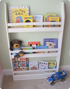 Diy Pb Kids Inspired Standing Bookshelf Home Makeover Has Great Ideas For Inside Little S Closets
