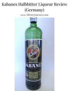 A review of Kabanes Halbbitter Liqueur from Germany. #kabanes #liqueur Cream Liqueur, Europe Destinations, Wine And Spirits, Home Recipes, Family Meals, Vodka Bottle, Herbalism, Germany, Fragrance