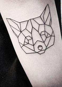 Картинки по запросу волк геометрия