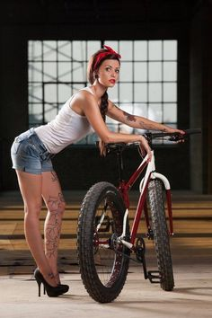 Fat Tire Chic. I think a Fat Tire Beer would ne good right now