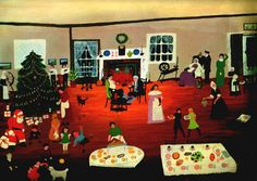 I37/38 Christmas at Home Grandma Moses
