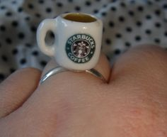 Starbucks coffee cup mug ring