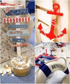 Deco Theme Marin, Theme Bapteme, Jenga, Marines, Paradise, Capri, Baby Shower, Toys, Crafts