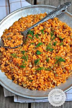 Yeşil Mercimekli Bulgur Pilavı – Hayat Cafe Kolay Yemek Tarifleri – Vejeteryan yemek tarifleri – The Most Practical and Easy Recipes Fun Easy Recipes, Snack Recipes, Easy Meals, Vegetarian Recipes, Snacks Diy, Healthy Snacks, Simple Snacks, Green Lentils, Turkish Recipes
