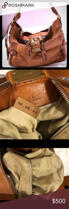e2f98f015b89 Authentic Chloe Paddington Purse in Cognac Camel This beautiful bag was  purchased   Traffic boutique
