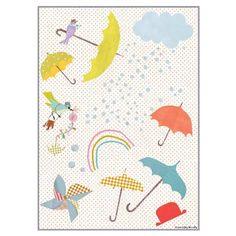 Tinou Le Joly Sénoville - Stickers Ah Quel Vent !