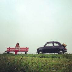 """""""Sometimes you just need to take some time and rest."""" #Fiat500  (Thanks @kitkat_ch on Instagram)"""