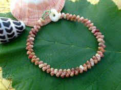 Shell Jewelry Nautical Eco Friendly Rare Seashell Bracelet Kauai Beach Island Seashell Bracelet Hawaii Hawaii Bracelet Rare Shells