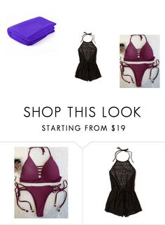 """Beach"" by amanda-weasley ❤ liked on Polyvore featuring Hollister Co."