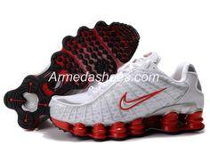 Buy Men s Nike Shox TL Shoes White Red Silver Top Deals from Reliable Men s  Nike Shox TL Shoes White Red Silver Top Deals suppliers.Find Quality Men s  Nike ... ad68b3210