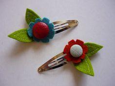 Cute hair clips.