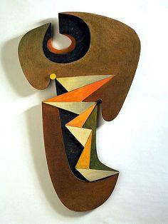 Sorel Etrog, Canadian, b. Jassy, Romania, 1933–2014 Barcarolle (Dance II), 1960 Painted wood, 40 1/8 x 24 3/8 x 1 1/2 in. (101.9 x 61.9 x 3.8 cm)