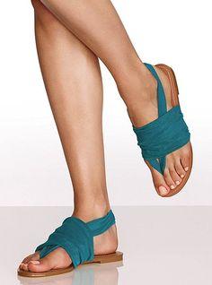 Colin Stuart Mesh wrap sandal $39