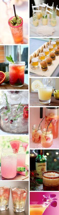Destination Wedding Cocktail Ideas | The Destination Wedding Blog - Jet Fete by Bridal Bar