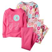 Note: To help keep children safe, cotton pjs should always fit snugly. Her dreams will be extra sweet and sugary with these treats!<br>