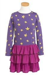 Mini Boden Long Sleeve Party Dress (Toddler Girls, Little Girls & Big Girls)