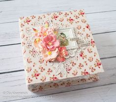 LikeArtStudio by Ola Khomenok: Romantic style mini album.Capture every moment.