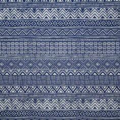 Pindler ESTANCIA INDIGO Fabric