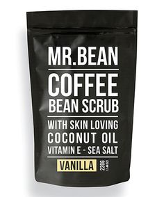 Look at this Mr. Bean Body Care Vanilla Organic Coffee Scrub on #zulily today!