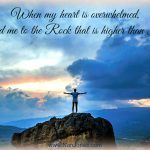 Finding God's Presence ~ When Peace Cannot Be Found  What a beautiful Name — the Name above all names. Jesus. The Rock of my salvation. The Lord my righteousness who forgives me and cleanses me that I may come before the Lord my God boldly with the needs of my heart. Jesus. The One who sits at the right hand of the Father and intercedes for me, who advocates my case before the Father ...