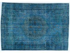 Turquoise Overdye Rug OD2203