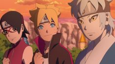 In episode 71 team 7 was the centre of the story. Boruto's this episode makes the beginning of a new arc which is 'Mitsuki's story' Time 7, Boruto Episodes, Boruto And Sarada, Boruto Naruto Next Generations, Naruhina, Going Home, Anime, Pikachu, Princess Zelda