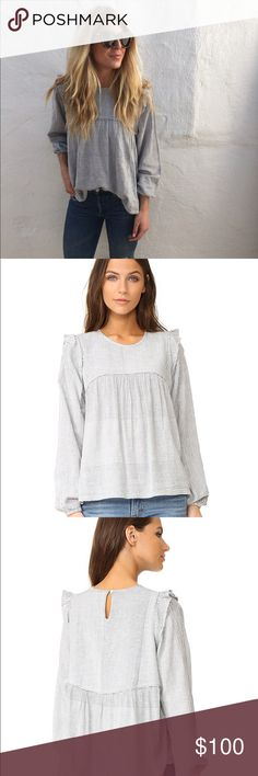 DRA Vera Top So cute and sold out everywhere. DRa Tops Blouses