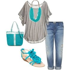 Super Cute love me some turquoise by DenyMacMart