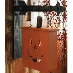 Pumpkin with Candle Holder Arrow Replacement Sign