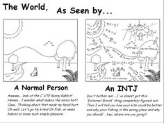 YES!!! This is totally the difference between me (an INFP) and my INTJ dad lol! :D I like to improve things, but not in the same way...