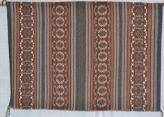 Native Rug : Native American Navajo Busy Banded Crystal Rug, Ca 1970's – CulturalPatina