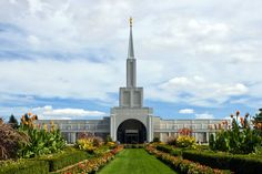Click to enlarge this image of the Toronto Ontario Mormon Temple