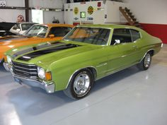 1972 Chevrolet Chevelle Malibu 350.  I'm not really a car buff, but I definitely have fond memories of the 4-door Malibu, that I drove in 1998-2000, which is similar to this one.