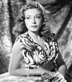 "Jane Greer - Film actress best known for her role as Kathie Moffat in the film noir classic ""Out of the Past"", also appeared in ""The Prisoner of Zenda"" and ""Man of a Thousand Faces"" Golden Age Of Hollywood, Vintage Hollywood, Hollywood Glamour, Hollywood Stars, Hollywood Actresses, Classic Hollywood, Actors & Actresses, 1940s Actresses, Hollywood Icons"