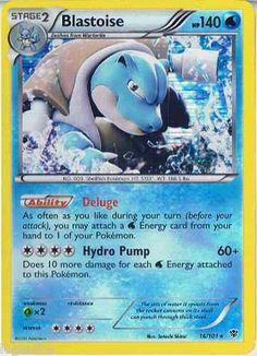 Pokemon Card Plasma Blast Rare Holo Blastoise 16/101 FREE COMBINED SHIPPING
