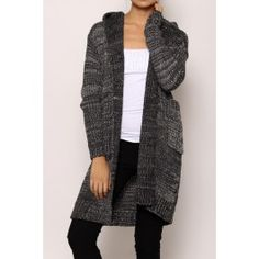 http://www.salediem.com/shop-by-size/small/hooded-striped-cardigan-18062.html #salediem #fashion #dresses #fallfashion