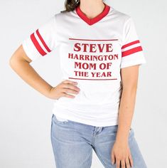 Steve Harrington Mom Of The Year Varsity Tee