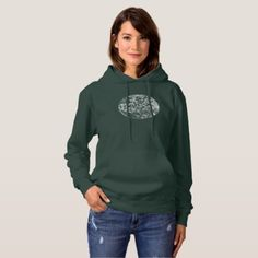 Vintage and Used Love Chinese Calligraphy Hoodie - calligraphy gifts custom personalize diy create your own