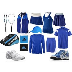 """""""Tennis Uniform"""" by eappah on Polyvore"""