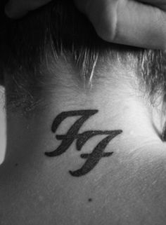 Foo Fighters Logo http://www.pairodicetattoos.com/foo-fighters-logo/