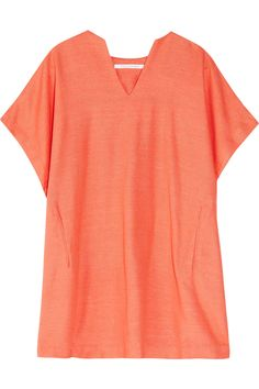 Diane von Furstenberg  Squaretan woven silk tunic...a new favorite.  Happy Mother's Day to me...and it comes in at least three colors!