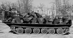 PT-76 light, amphibious tanks used during Vietnam War.