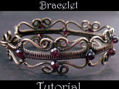 Learn to create a romantic, Victorian-inspired bracelet that's as easy to wear as it is beautiful.